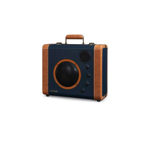 Crosley Soundbomb -kaiutin, sininen-oranssi