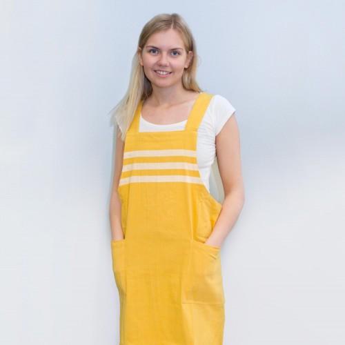Puuvillaesiliina, keltainen