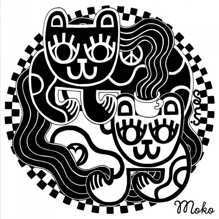Moko-kangaskassin printti: Ines Sederholm
