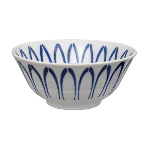 TOKYO DESIGN MIXED BOWLS, WHITE-BLUE