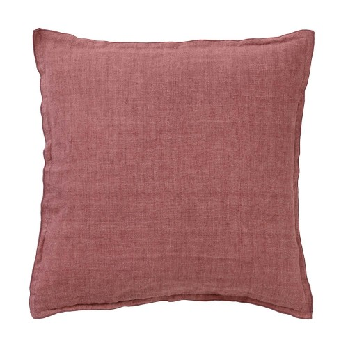 Bungalow cushion cover 60x60cm, linen rosewood