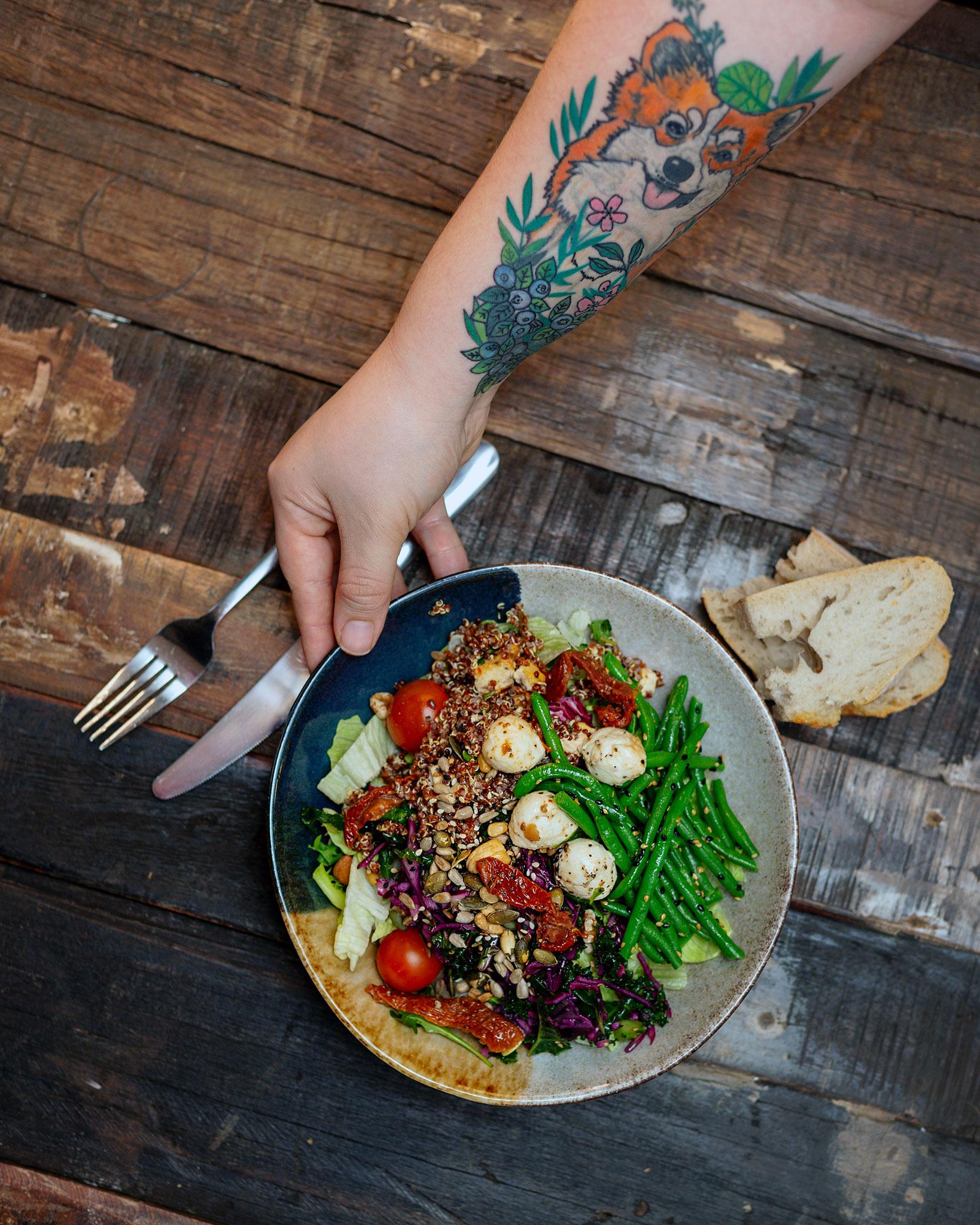 Moko Market salaatti