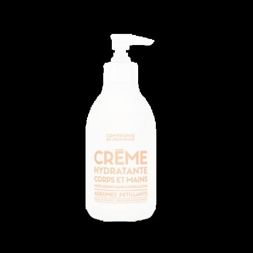 Compagnie De Provence Sparkling Citrus käsi- ja vartalovoide 300 ml