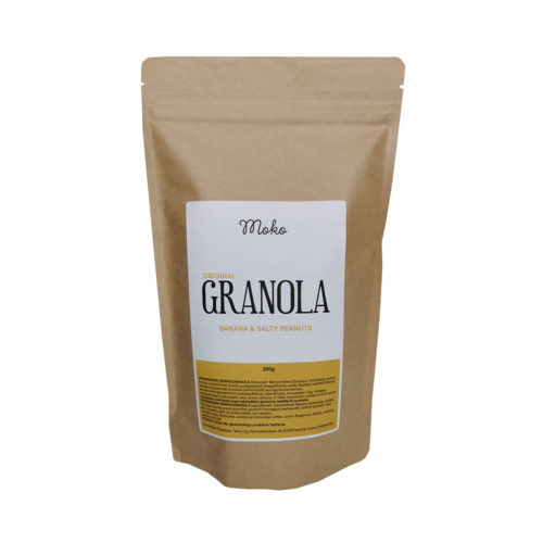 moko original granola banana & salty peanuts