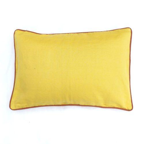 Moko mas tyynynpäällinen keltainen 40x60