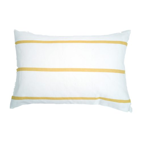 Moko mas tyynynpäällinen raidallinen keltainen 40x60 (1)