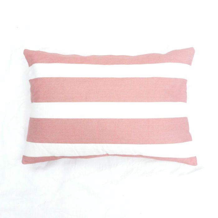 Moko mas tyynynpäällinen raidallinen pinkki 40x60