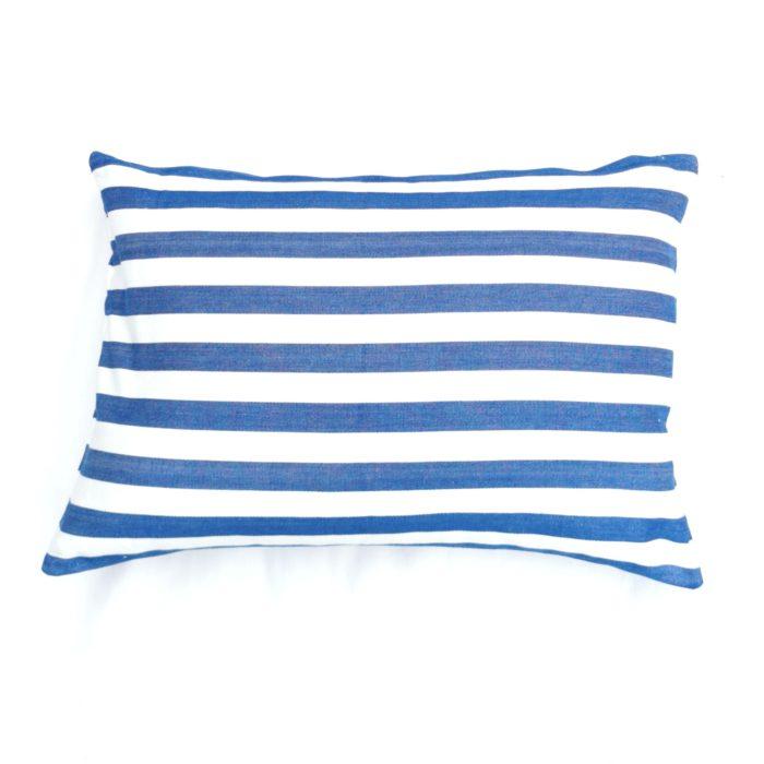 Moko mas tyynynpäällinen raidallinen sininen 40x60