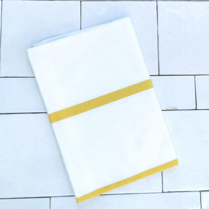 Moko Mas keittiöpyyhe keltainen