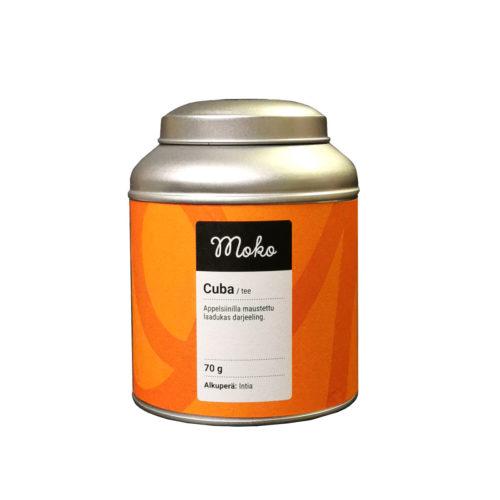 Moko tee appelsiinilla maustettu Cuba