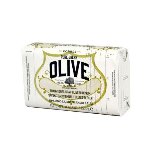 Korres saippua oliivinkukka 125g