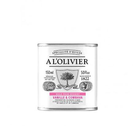 A l'Olivier vanilla & Kaffirlimeert-vanille-combava