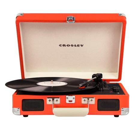 Crosley Cruiser Deluxe -vinyylilevysoitin, oranssi