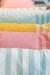 Moko-malliston pastellinsävyisiä tyynynpäällisiä